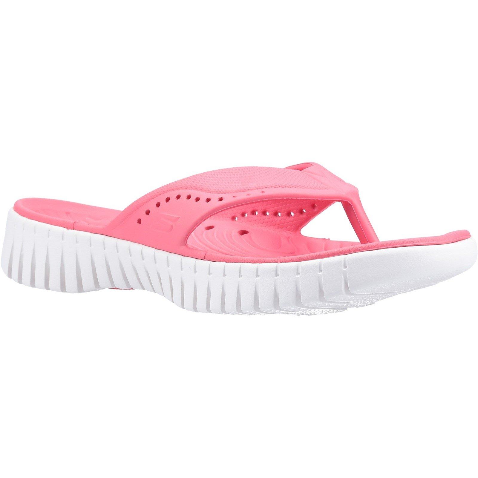 Skechers Women's GOwalk Smart Mahalo Sandal Various Colours 32371 - Coral 7