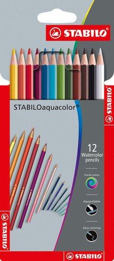 STABILO Akvarellpenner 12-pack