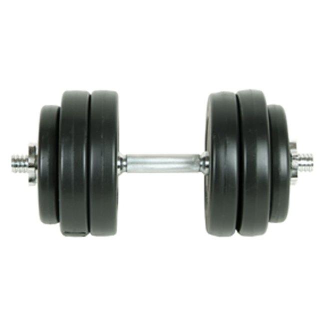 vidaXL Hantelset 15 kg
