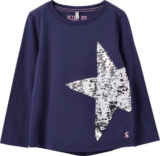 Tom Joule Ava Applique T-Skjorte, Navy Star 3 År