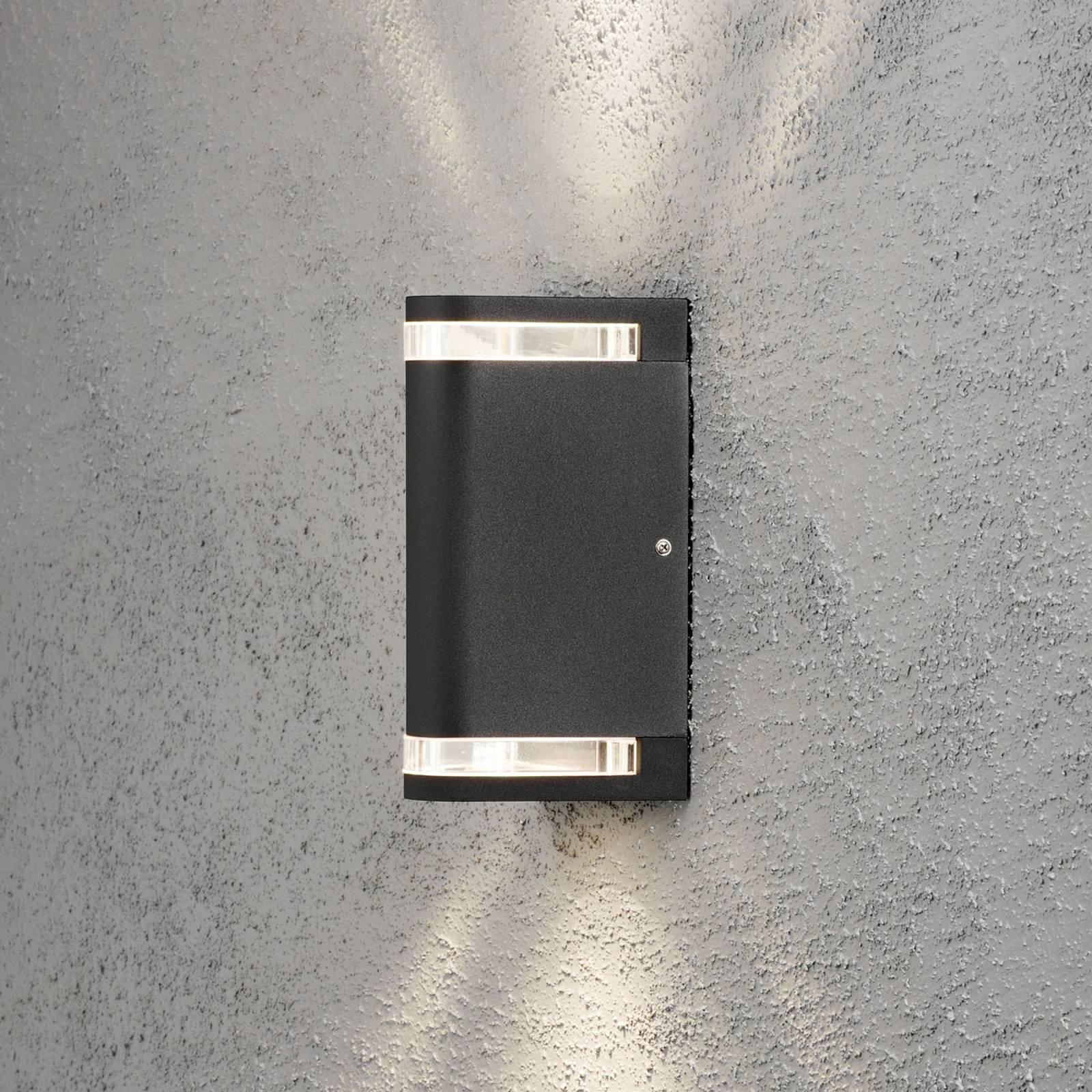 Modena utendørs vegglampe, 2 lyskilder, opp/ned