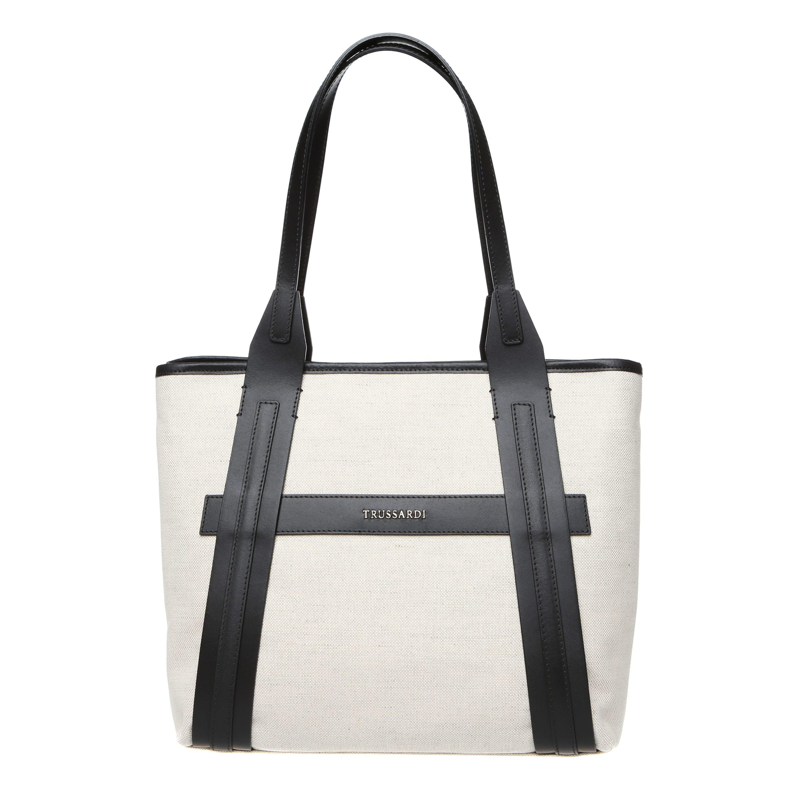 Trussardi Women's Shoulder Bag White 76B120M_119Natural-Black
