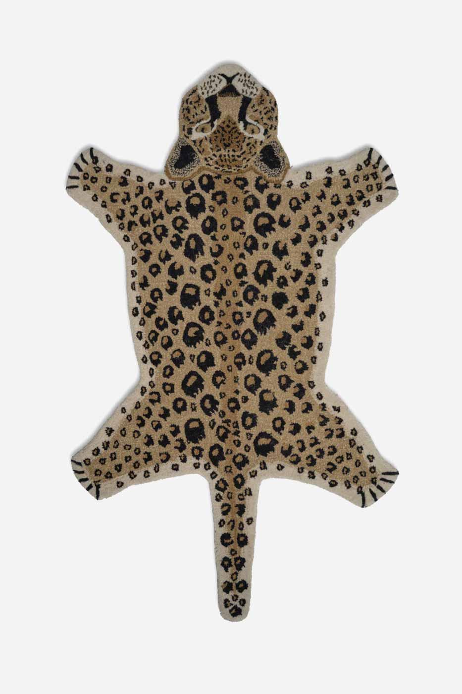 Matta leopard 90x150 cm natur