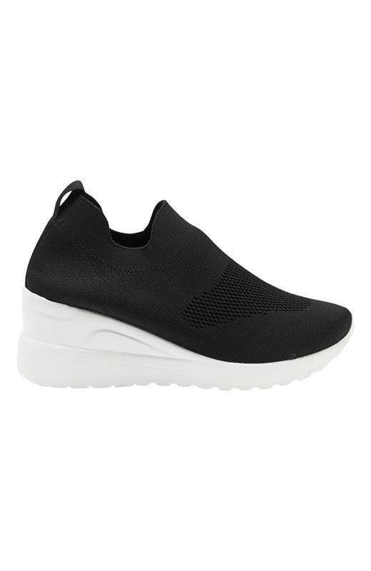 Duffy Stickade sneakers Svart