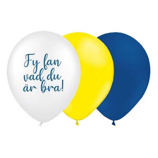 Latexballonger Student Vad Du Är Bra - 8-pack
