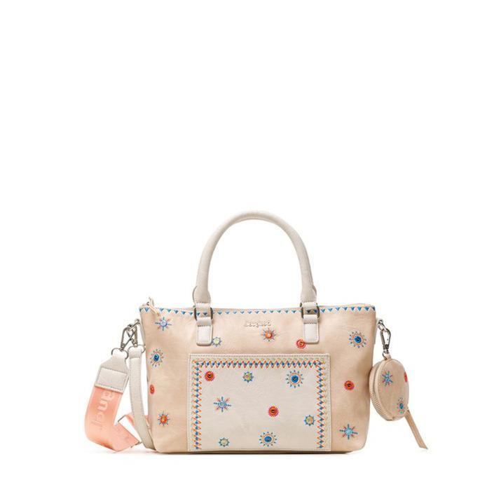 Desigual Women's Handbag Beige 240048 - beige UNICA