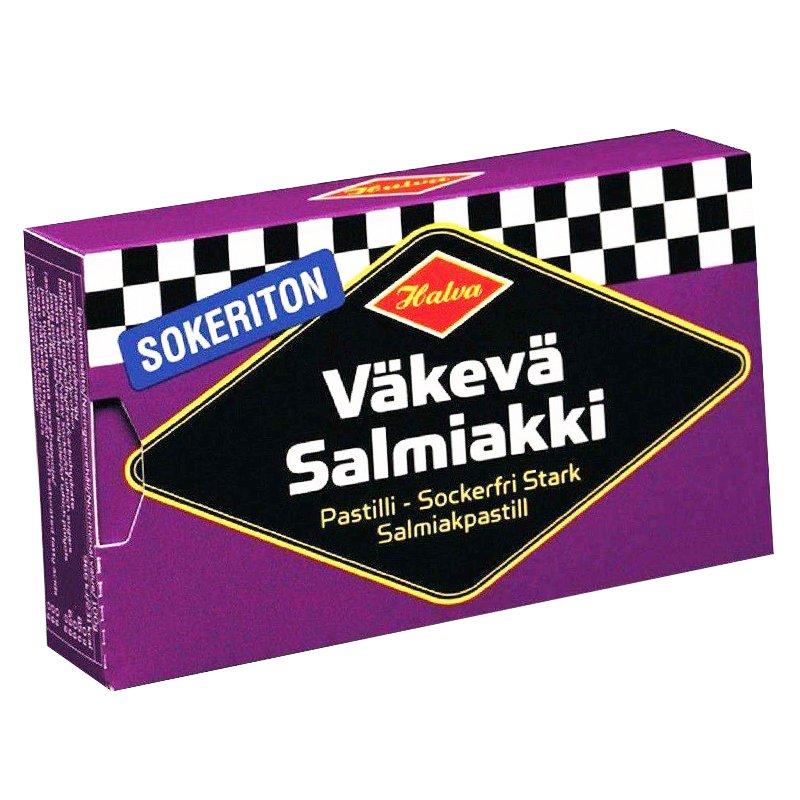 Sokeriton Väkevä Salmiakki - 10% alennus