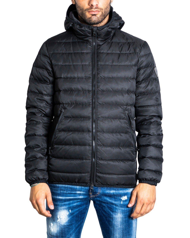 Ea7 Men's Jacket Green 322141 - black 3XL