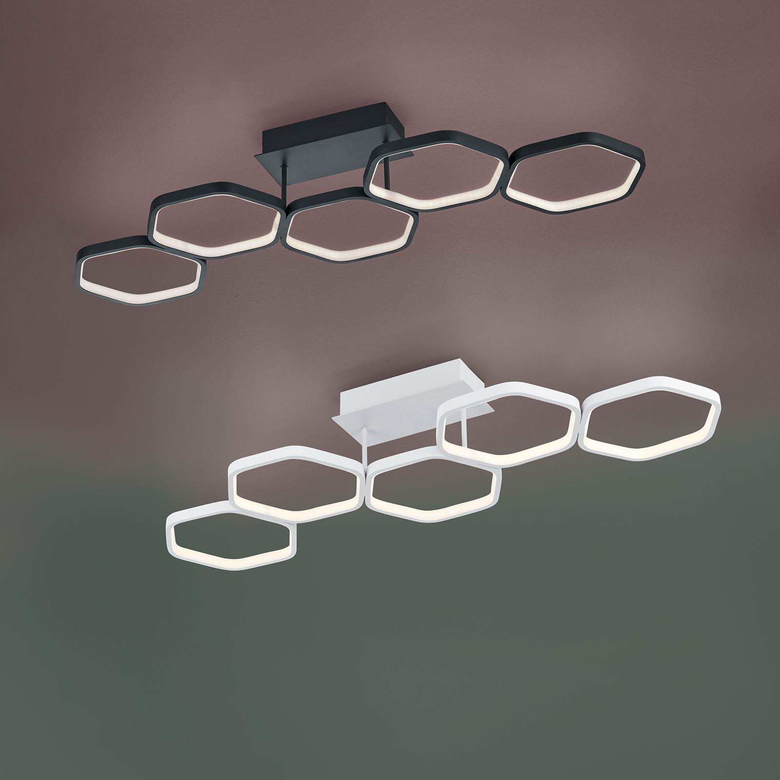 LED-kattovalaisin Vigo, valkoinen, himmennettävä
