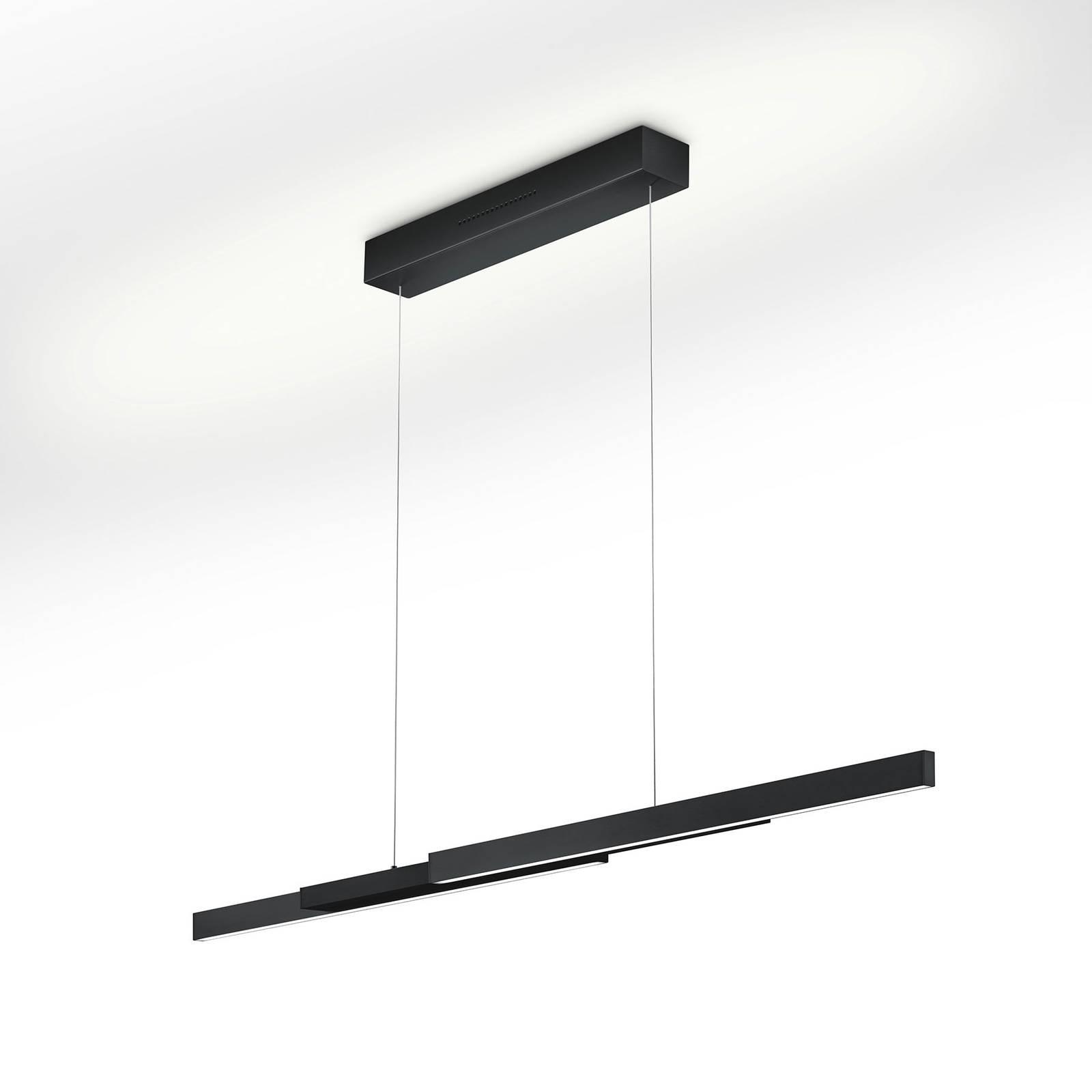 LED-riippuvalaisin Lara-L205 musta, eleohjaus