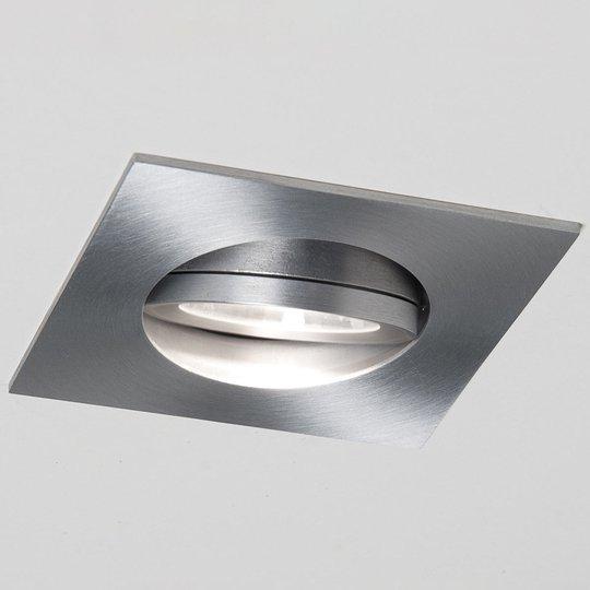 LED-uppospotti Agon Square alumiinia, 3 000 K, 40°