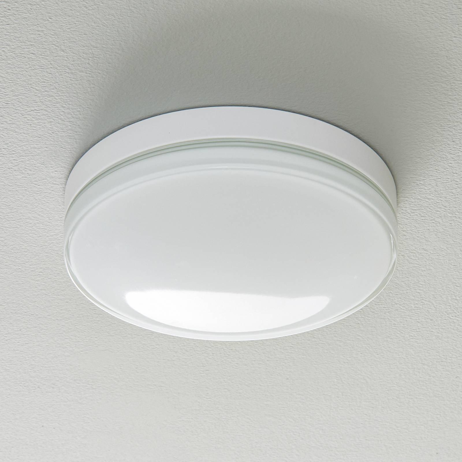 BEGA 12128 LED-taklampe DALI 930 hvit 30,5cm