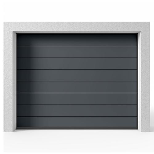 Garasjeport Leddport Moderne Panel Antrasitt, 2400x2000