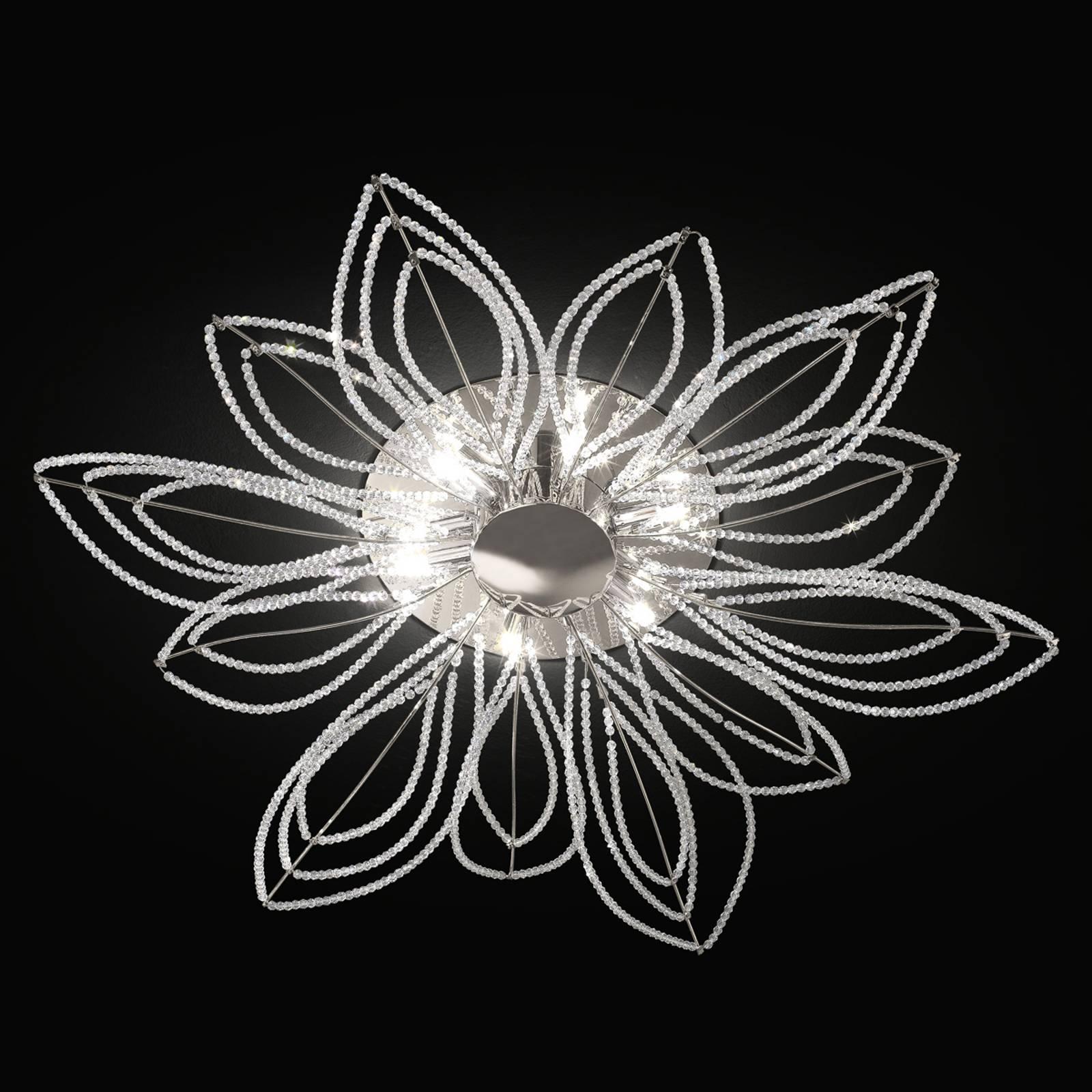 Kattovalaisin Girasole kukan muotoisena, 70 cm