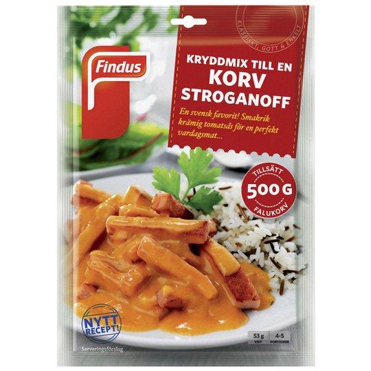 Kryddmix Korv Stroganoff 53g - 30% rabatt