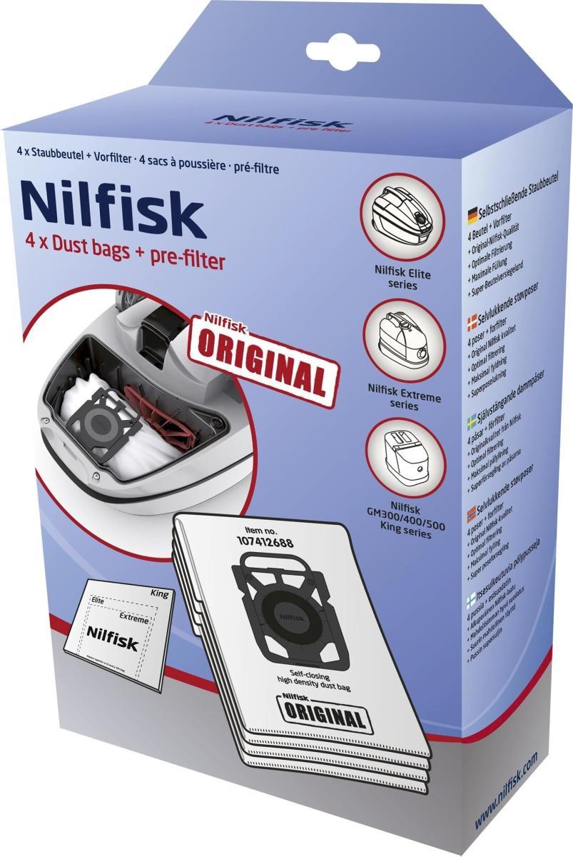 Nilfisk - Standard Dustbags for Elite 4PCS