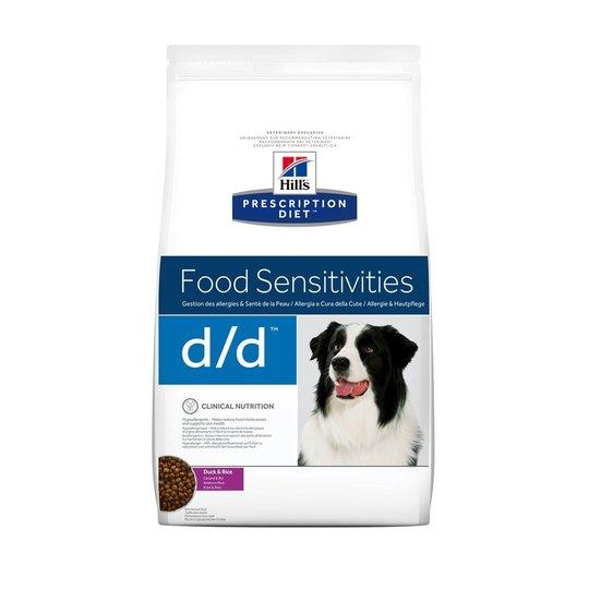 Hill's Prescription Diet Canine d/d Food Sensitivities Duck & Rice (2 kg)