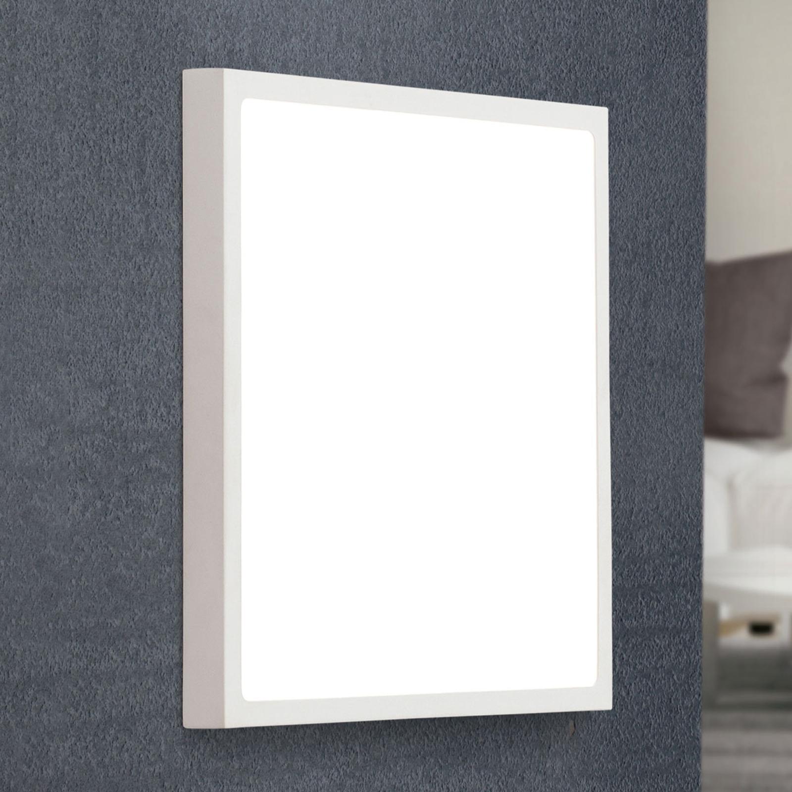 LED-seinävalaisin Vika, valkoinen, 30 x 30 cm