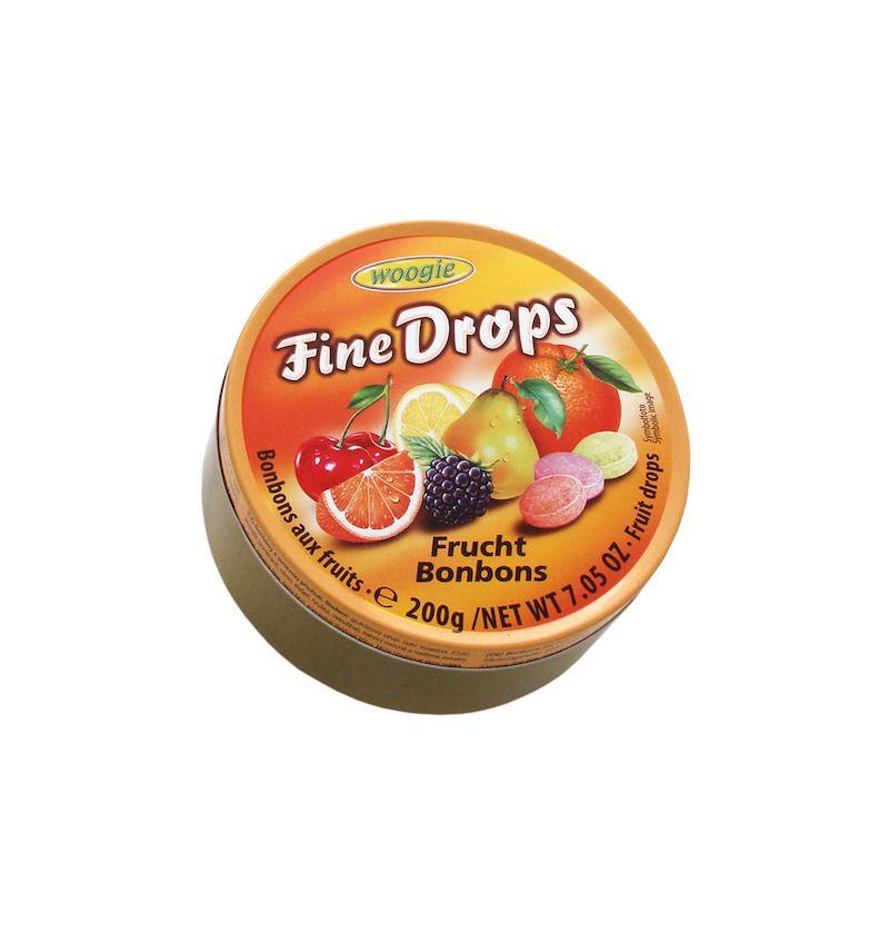Woogie Fine Drops - Mixed Fruit 200g