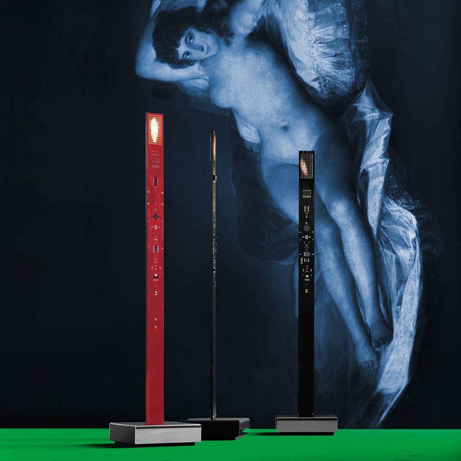 Ingo Maurer My New Flame LED-pöytävalaisin musta