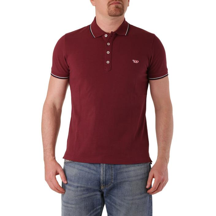 Diesel Men's Polo Shirt Red 283878 - red S