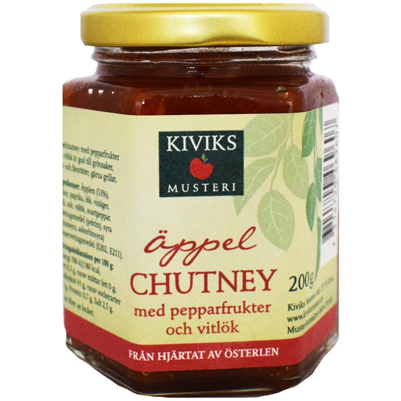 Äppelchutney Pepparfrukter & Vitlök 200g - 56% rabatt