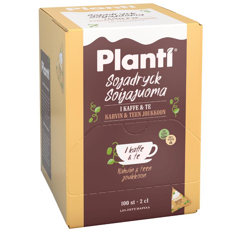 Soyadryck till kaffet 100-pack - 89% rabatt
