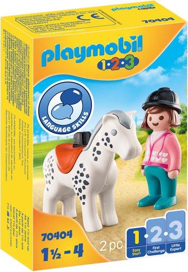 Playmobil 70404 Rytter med Hest