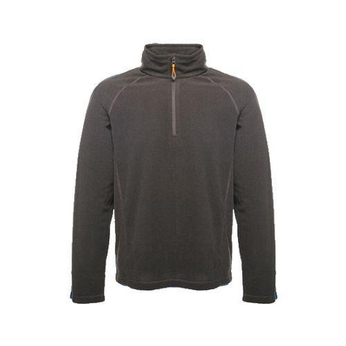 Regatta Men's Parkline Half Zip Micro Fleece Various Colours TRF511_540 - Seal Grey XXXL