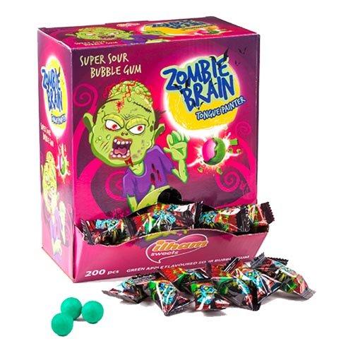 Zombie Brain Tuggummi Storpack - 200-pack