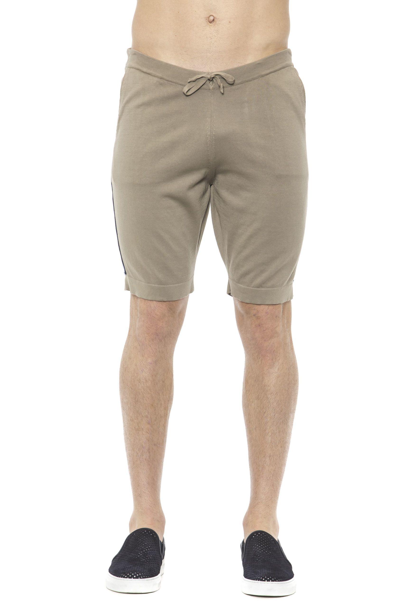 Alpha Studio Men's Corda Short Beige AL1374383 - IT48   M