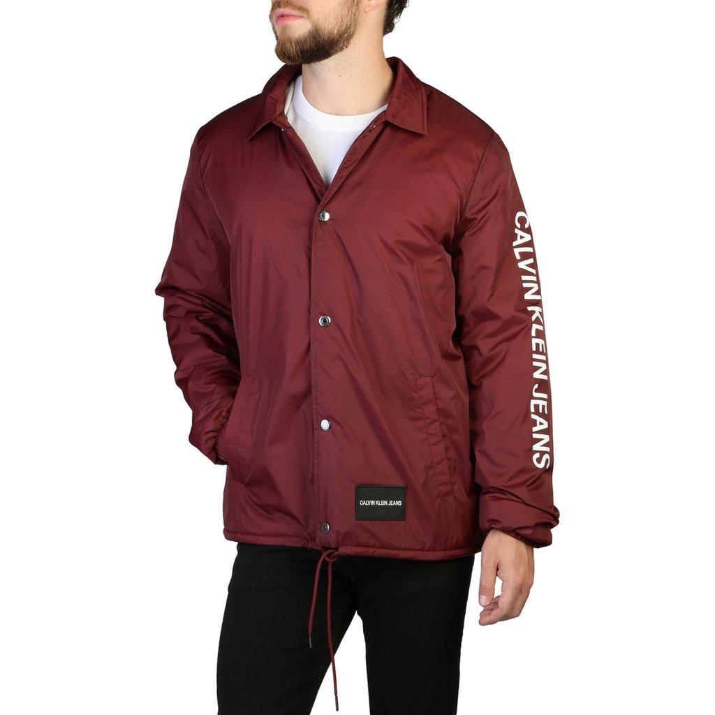 Calvin Klein Men's Jacket Red 349385 - red M