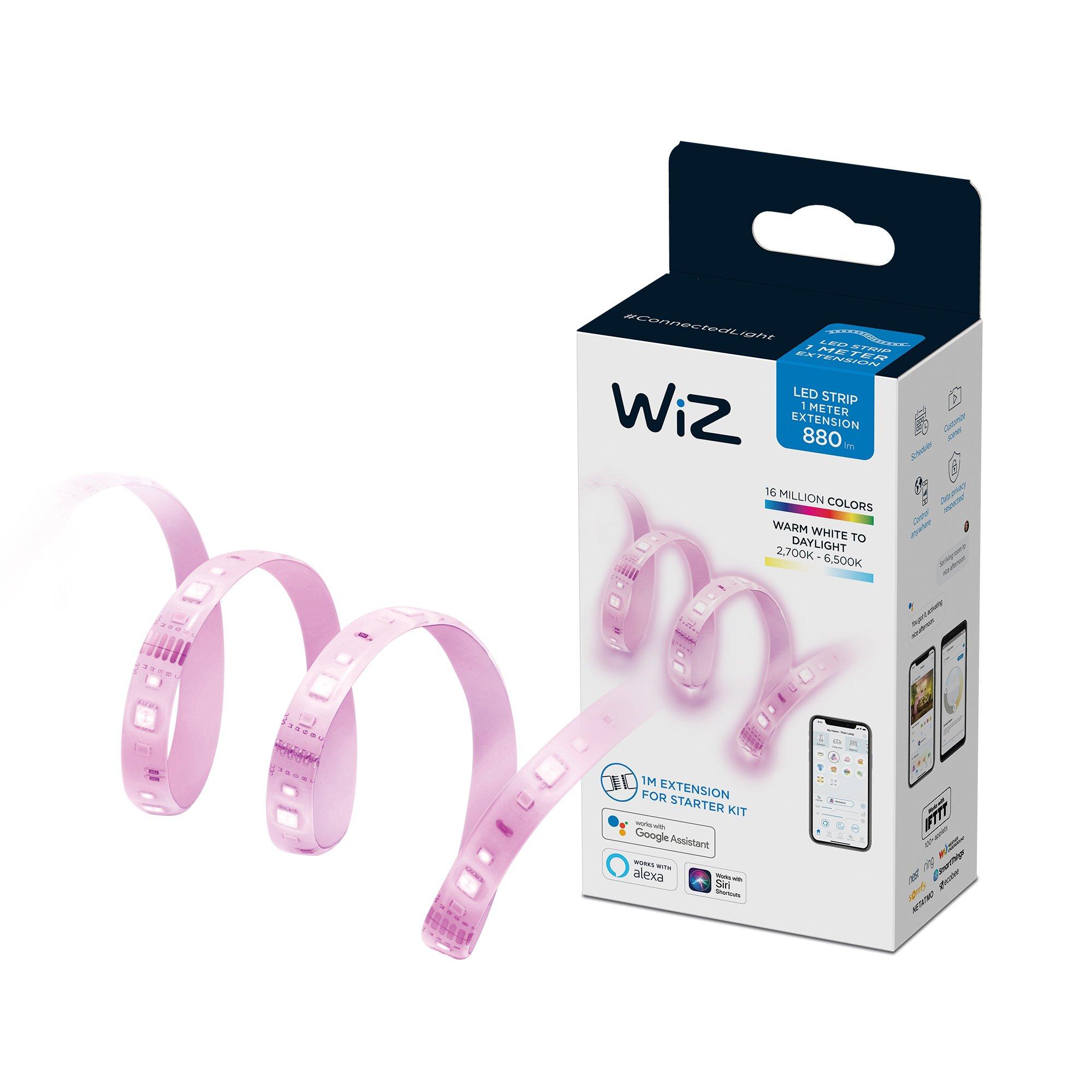 WiZ - Wi-Fi LED Strip 1M 880lm Extension EU