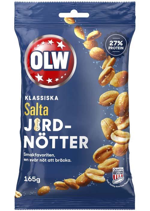 Salta Jordnötter OLW - 165g