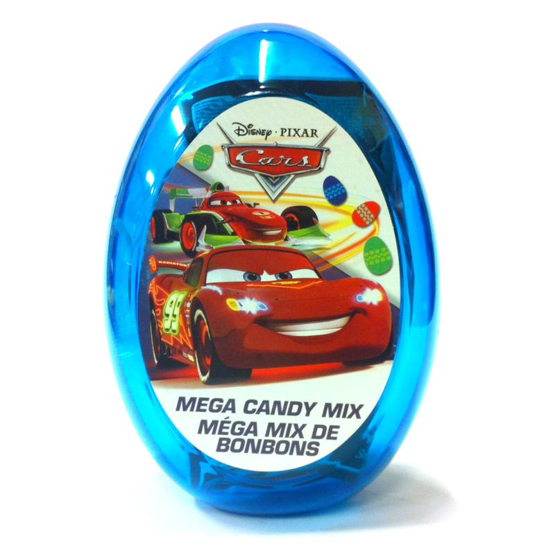 Fyllt påskägg Cars - 33% rabatt