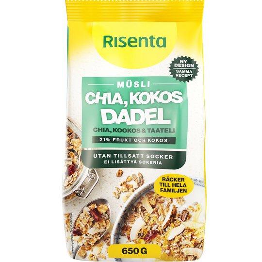 Müsli Chia, Kokos & Dadel - 13% rabatt