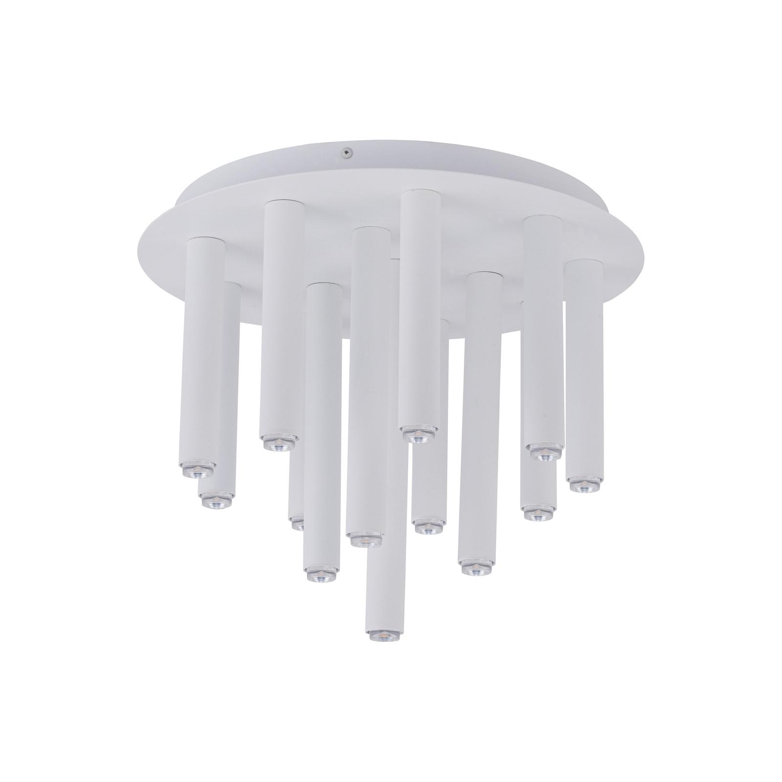 Kattovalo Stalactite, 13-lamppuinen, valkoinen