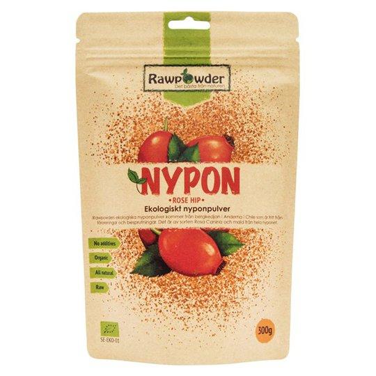 Rawpowder Ekologiskt Nyponpulver, 300 g