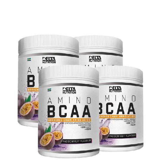 4 x BCAA Amino, 400 g