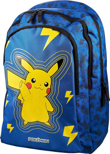 Pokémon Light Bolt Ryggsekk 20L, Blå