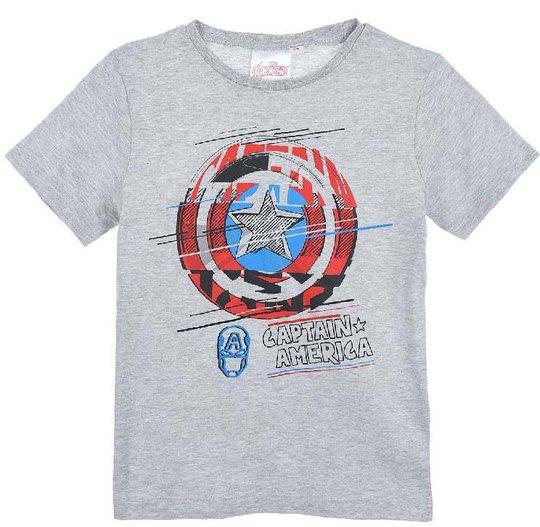 Marvel Avengers T-Shirt, Grey, 4 År