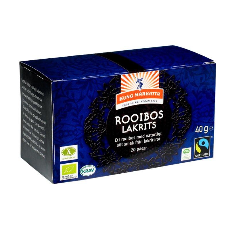 Rooibos Lakrits - 52% rabatt