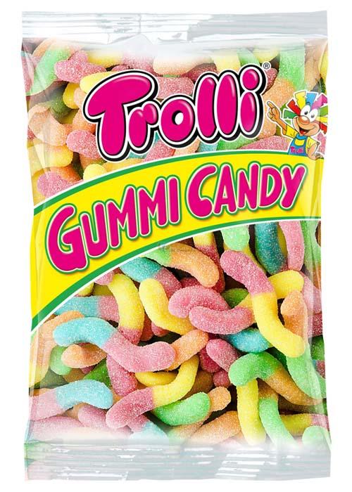 TROLLI SOUR GLOWWORMS - 1 kg