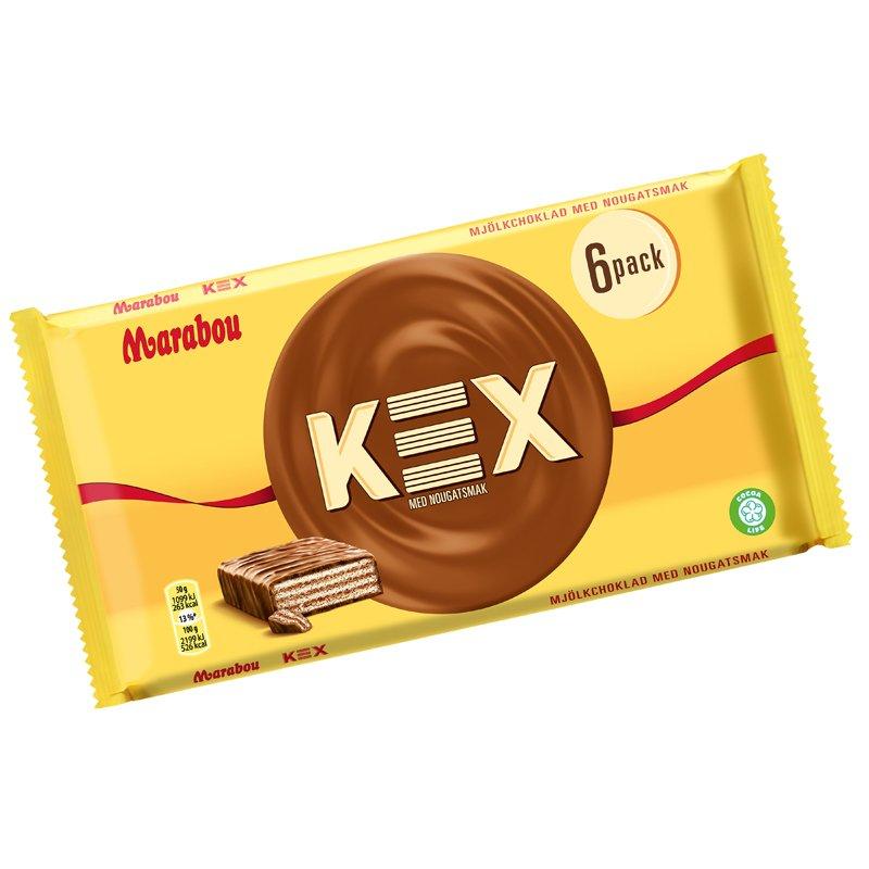 Kexnougat 6-pack - 26% rabatt