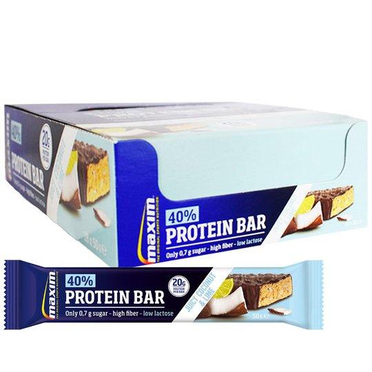 "Hel Låda Proteinbars ""Coconut & Lime"" 18 x 50g - 56% rabatt"