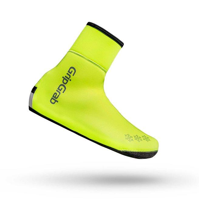 GripGrab Arctic Waterproof Deep Winter Hi-Vis Shoe, Skoöverdrag vattentäta