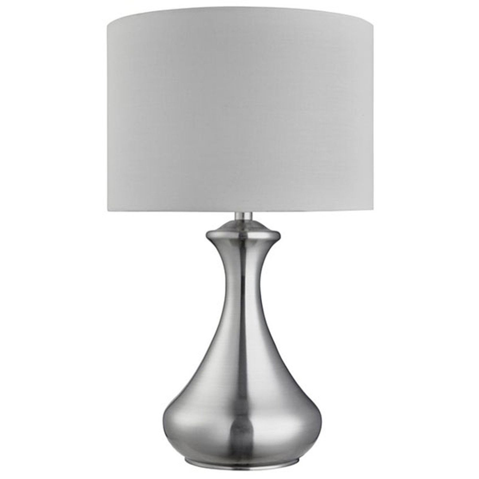 Bordlampe Touch 2750, sølv satinert
