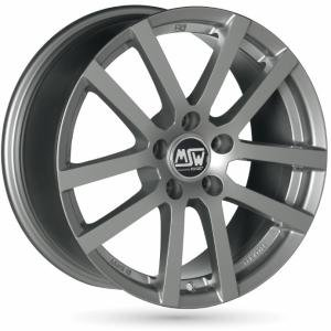 MSW 22 Grey Silver 6.5x16 4/100 ET37 B63.3