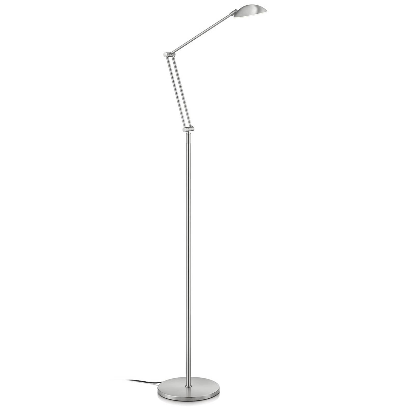 Justerbar LED-gulvlampe Artemis, bevegelsesstyring