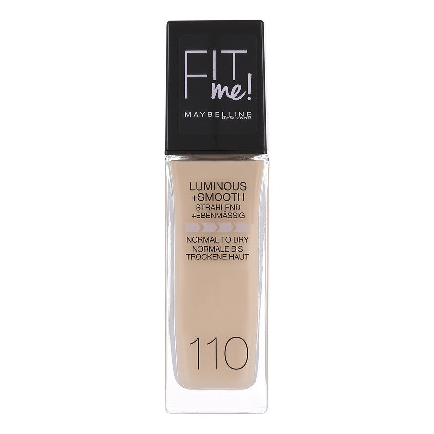 Maybelline - Fit Me Luminous & Smooth Foundation - Porcelain 110